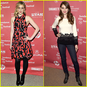 Greta Gerwig & Alison Brie Bring Their Films to Sundance 2015
