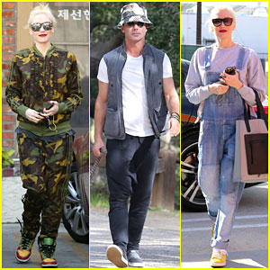Is Gwen Stefani Working on New Dance Moves for an Upcoming Music Video?