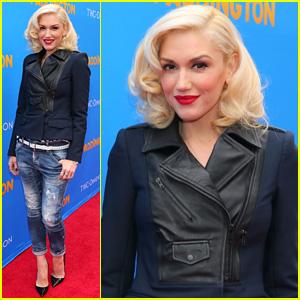 Gwen Stefani 'Shines' on 'Paddington' Premiere Red Carpet