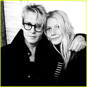 Gwyneth Paltrow Shares Cute New Pic with Mortdecai's Johnny Depp!
