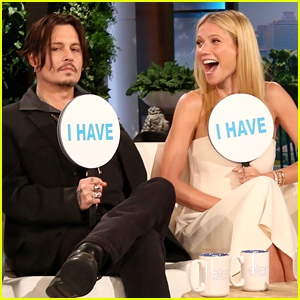 Gwyneth Paltrow & Johnny Depp Admit They're Members of the Mile High Club - Watch Now!