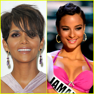 Halle Berry's Hair Gets Comparisons to Miss Jamaica!
