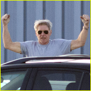 Harrison Ford Flexes His Muscles for the Cameras at 72!