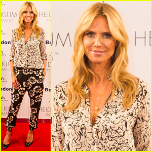 Heidi Klum Says She Was Too Curvy to Be a High Fashion Model