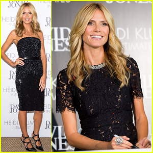 Heidi Klum Travels Back & Forth Between Melbourne & Sydney for Intimates Collection Launch!