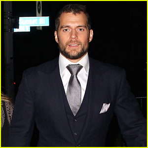 Henry Cavill Skips Official Globes Parties for Chateau Marmont