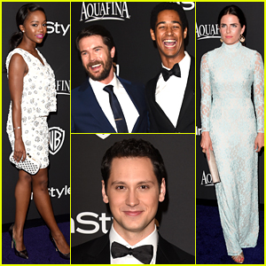 'How to Get Away with Murder' Cast Takes on Golden Globes!