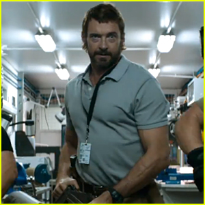 Hugh Jackman Brings Back the Mullet in New 'Chappie' Trailer - Watch Now!