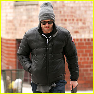 Hugh Jackman Laughs It Off After Flubbing His Line - Watch Here!
