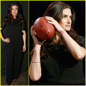 Idina Menzel Will Perform '100 Percent Live' for Super Bowl 2015