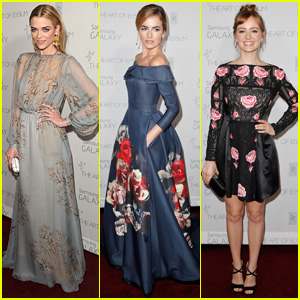 Jaime King & Camilla Belle Bring Elegance to Art of Elysium Heaven Gala 2015