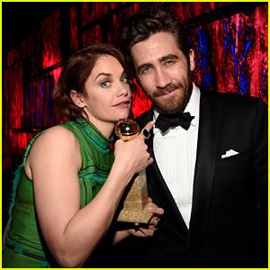 Jake Gyllenhaal & Ruth Wilson Share Cute Golden Globes Moments!