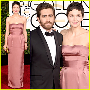Jake & Maggie Gyllenhaal Make It a Family Date on Golden Globes 2015 Red Carpet