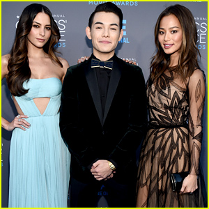 Jamie Chung & Genesis Rodriguez Represent 'Big Hero 6' at the Critics' Choice Awards 2015