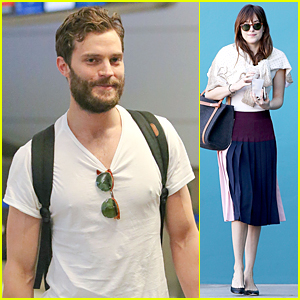 Jamie Dornan Tied Up & Tucked Away His Junk in Flesh-Colored Bag For 'Fifty Shades of Grey' Sex Scenes