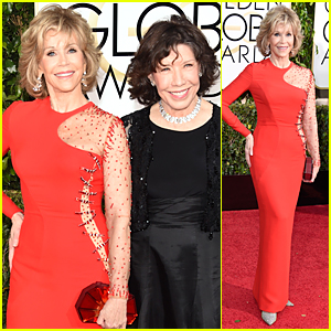 Grace & Frankie's Jane Fonda & Lily Tomlin Hit Golden Globes 2015