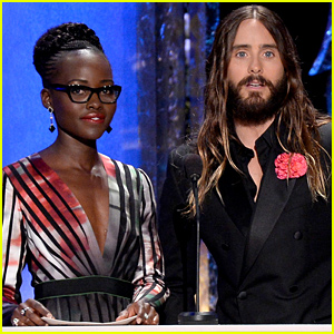 Lupita Nyong'o & Jared Leto Reunite on SAG Awards Stage!