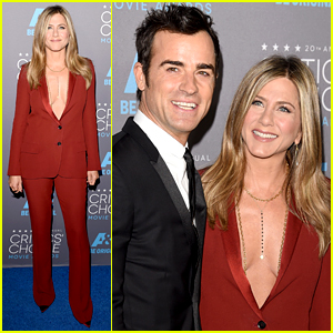 Jennifer Aniston Brushes Off Oscars Snub at Critics' Choice Awards 2015 with Justin Theroux!