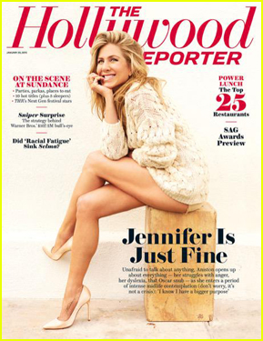 Jennifer Aniston Looks Fine & Sexy on 'The Hollywood Reporter' Cover