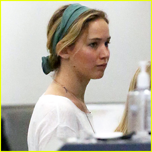 Jennifer Lawrence Emerges After Photo of Her & Chris Martin Having Dinner Hits the Web