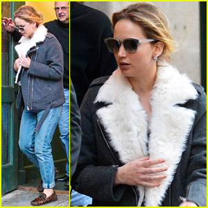 Jennifer Lawrence Bundles Up in the Big Apple After Chris Martin Relationship Confirmed 'Solid'