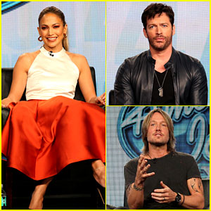 Jennifer Lopez & the 'American Idol' Crew Stop By the Winter TCAs