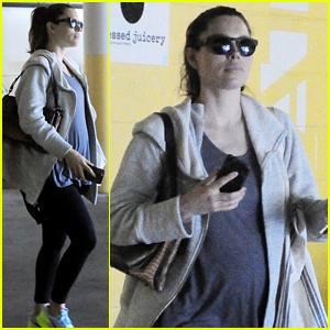 Jessica Biel's Baby Bump Is Getting So Big - New Photos!
