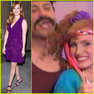 Jessica Chastain & Jimmy Kimmel Spoof 80s Wrigley's Ad (Video)