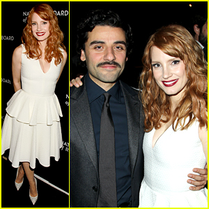 Jessica Chastain & Oscar Isaac Are 'Violent' NBR Gala Winners!