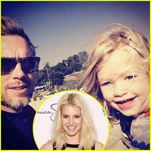 Jessica Simpson Shares Cute Beach Photo of Daughter Maxwell