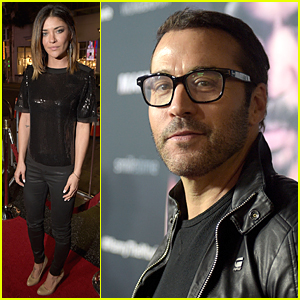 Jessica Szohr & Jeremy Piven Support Boxer Manny Pacquiao in Hollywood
