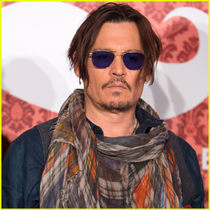 Johnny Depp Rocks Colorful Scarf at 'Mordecai' Berlin Photo Call