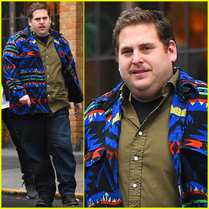 Jonah Hill Is Sporting a Fuzzy New Mustache For the New Year!