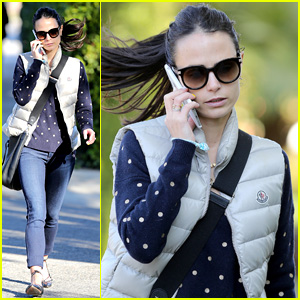 Jordana Brewster Spends New Year's Beachside with Son Julian