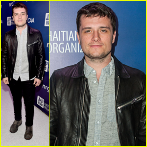 Josh Hutcherson Joins Sean Penn For Help Haiti Home Gala 2015