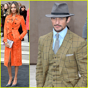 Jourdan Dunn Shows Orange is the New Black at Burberry Show
