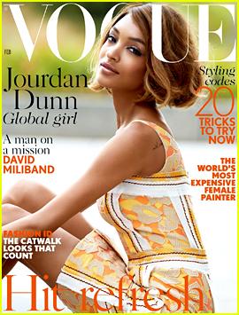 Jourdan Dunn Makes History for Black Women on 'British Vogue'