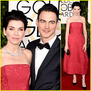 Julianna Margulies & Hot Husband Keith Lieberthal Attend the Golden Globes 2015