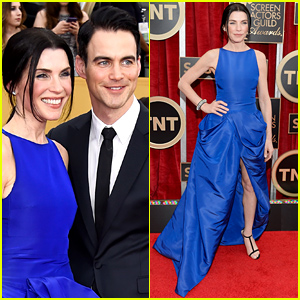 Julianna Margulies Brings Her Very Handsome Hubby Keith Lieberthal to the SAG Awards 2015!