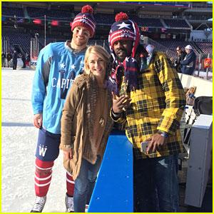 Julianne Hough Celebrates Her Boyfriend's Hockey Team's Big Win