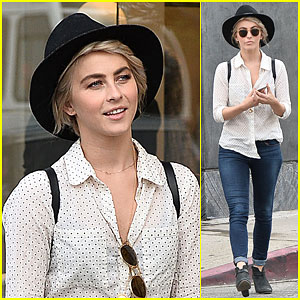 Julianne Hough Eats Healthy, But Still Treats Herself to Pasta & Candy