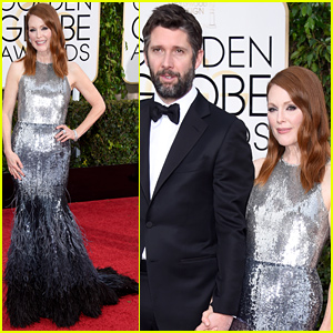 Nominee Julianne Moore Brings Her Husband Bart Freundlich to the Golden Globes 2015