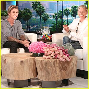 Justin Bieber Makes Surprise Show Appearance For Ellen DeGeneres' Birthday Week!