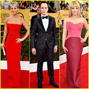 Kaley Cuoco & Jim Parsons Bring a Big Bang to the SAG Awards 2015
