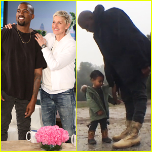 Kanye West Gives First Look of 'Only One' Video Featuring North West on 'Ellen' - Watch Here!