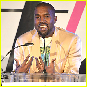 Kanye West Says Smiling Not Cool During Daily Front Row Awards Speech