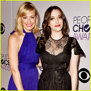 2 Broke Girls' Kat Dennings & Beth Behrs Are 2 Stylish Ladies at the People's Choice Awards 2015