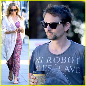 Kate Hudson & Matt Bellamy Continue to Hang Out Post-Split