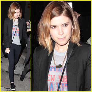 Kate Mara Holds Hands with a Gal Pal Before Dinner at Craig's