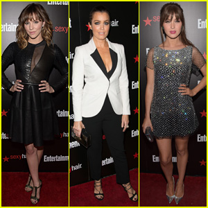 Katharine McPhee & Bellamy Young Are Stylish Ladies for EW's SAG Awards Party 2015
